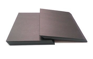 Thick Laminated black board with black core