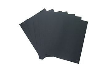 Uncoated Black paper board